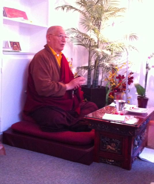 Kenchen Rinpoche at Santa Barbara Bodhi Path