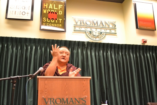 Rinpoche at Vroman's Bookstore