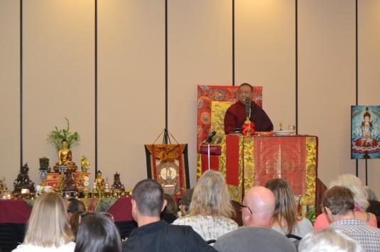 Rinpoche in San Luis Obispo