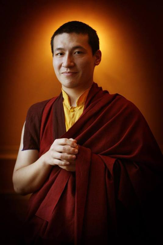 His Holiness Karmapa Thaye Dorje