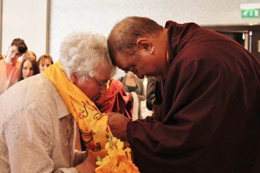 Blessings  Shamarpa & Lama Jampa Thaye