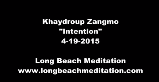 Khaydroup teaches at Long Beach Meditation